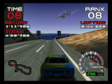 Ridge Racer 64 Nintendo 64 Bridge ahead!