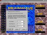 BrainWave Windows 3.x The action keys can be reconfigured. This option is accessed via the menu bar.