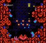 Abadox: The Deadly Inner War NES Another biological boss