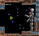 Abadox: The Deadly Inner War NES This Robo-Man guards the next area