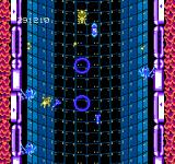 Abadox: The Deadly Inner War NES A bright blue tube