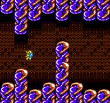 Abadox: The Deadly Inner War NES Big Blue highspeed obstacle course