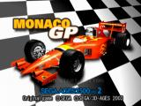 SEGA AGES 2500 Vol.2: Monaco GP PlayStation 2 Title screen