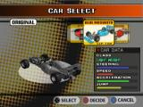 Sega Ages 2500: Vol.2 - Monaco GP PlayStation 2 Car Select