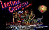 Leather Goddesses of Phobos! 2: Gas Pump Girls Meet the Pulsating Inconvenience from Planet X DOS Title screen (Tandy/PCjr)
