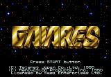 Gaiares Genesis Title Screen
