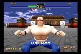 Fighters Megamix SEGA Saturn So manly!