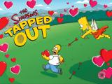 The Simpsons: Tapped Out iPad Loading screen created for Valentine's Day.