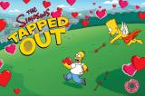The Simpsons: Tapped Out iPhone Special loading screen created for Valentine's Day