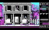 Capone DOS 3 gangsters, one victim - player has hard work. (CGA)