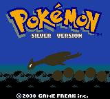 Pokémon Silver Version Game Boy Color Title screen