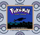 Pokémon Silver Version Game Boy Color Title screen (SGB)
