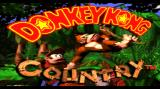 Donkey Kong Country Wii Title screen