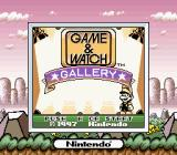 Game & Watch Gallery Game Boy Title screen with SGB border