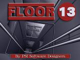 Floor 13 DOS Title screen