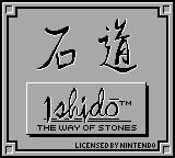 Ishido: The Way of Stones Game Boy Title screen