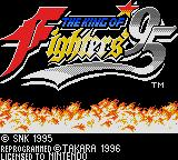The King of Fighters '95 Game Boy Title screen