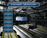Evochron Mercenary Windows Main Menu.