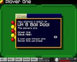 Arcade Pool Amiga CD32 Starting an 8 ball game