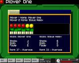 Arcade Pool Amiga CD32 Mid-game stats