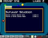 Arcade Pool Amiga CD32 Survivor mode stats