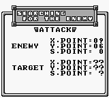 Power Mission Game Boy statistic - description enemy attack