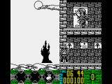 Count Duckula in No Sax Please - We're Egyptian ZX Spectrum Castle's entrance