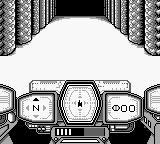 Cosmo Tank Game Boy FPS view.