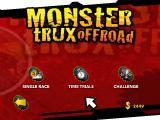 Monster Trux Extreme: Offroad Edition Windows Game mode selection screen.