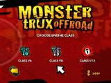 Monster Trux Extreme: Offroad Edition Windows Selecting the engine class.