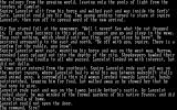 Lancelot DOS You can choose between 80 column or 40 column text; this is the 80 column version (CGA)