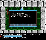 The Guardian Legend NES There are rooms that provide insights on how to unlock certain corridors