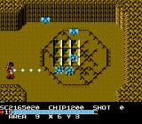 The Guardian Legend NES Area nine and the enemies are very hard to kill