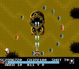 The Guardian Legend NES Area ten action