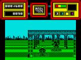 Future Bike Simulator ZX Spectrum typical city