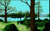 Future Wars: Adventures in Time Atari ST Forest.