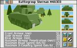Campaign Atari ST Info about an American tank