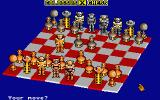 Colossus Chess X Atari ST Playing with futuristic pieces