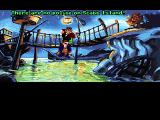 Monkey Island 2: LeChuck's Revenge Macintosh Unfriendly encounter at the start
