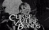 Curse of the Azure Bonds Atari ST Title screen (monochrome)
