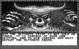 Curse of the Azure Bonds Atari ST Part of the intro (monochrome)