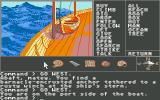 Mindshadow Atari ST Port side of the pirate ship.