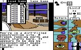 Tass Times in Tonetown Commodore 64 Drop down menu.