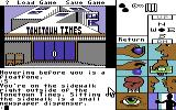 Tass Times in Tonetown Commodore 64 Outside the Tonetown Times.