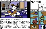 Tass Times in Tonetown Commodore 64 Editor of the Tonetown Times.