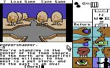 Tass Times in Tonetown Commodore 64 Town square.