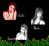 Peek-A-Boo Poker NES Choose your opponent (Japanese version)