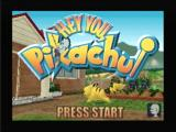 Hey You, Pikachu! Nintendo 64 Title screen