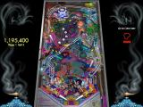 Solid State Pinball: Jinni Zeala Macintosh Ball 3 in play lower left