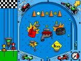 Putt-Putt Enters the Race Windows One of several minigames - pinball at the toy store